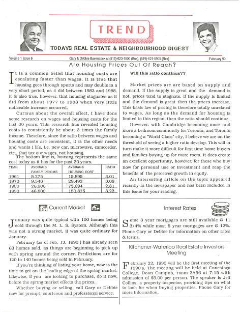 Trend - Feb 1990
