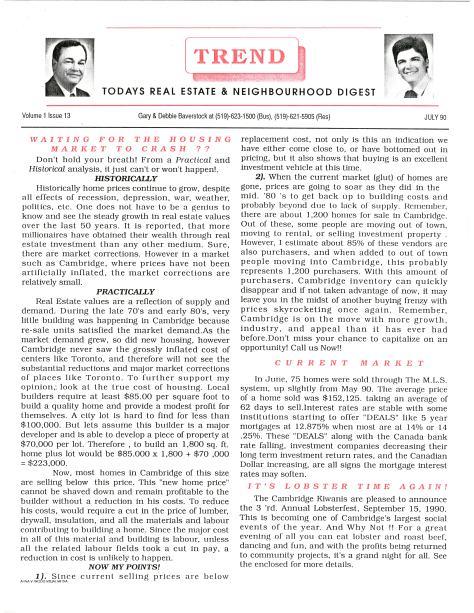 Trend - July 1990