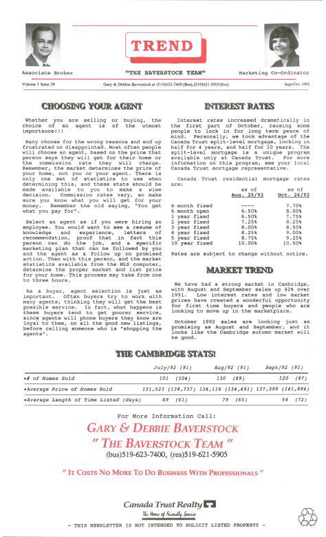 Trend - September 1992