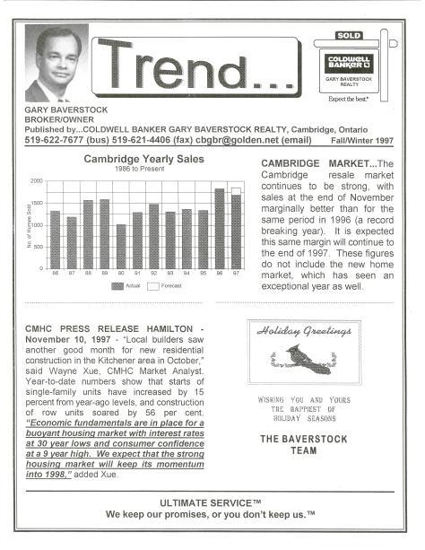 Trend - Winter 1997