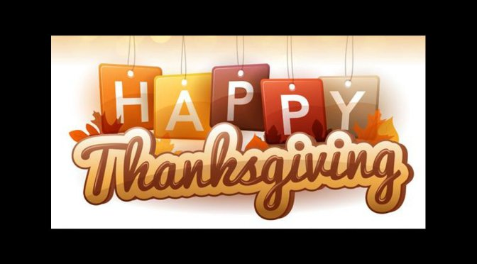 Trust Your Thanksgiving Is Filled With Peace, Love and Great Joy