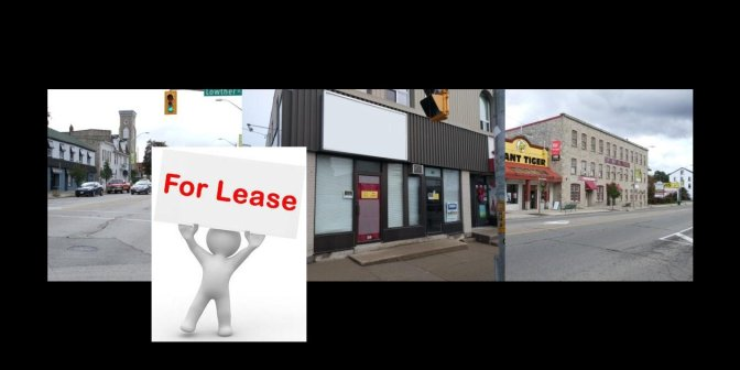 Corner Store Front Available for Lease