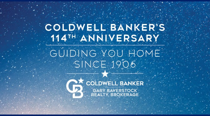 Happy Birthday Coldwell Banker – 114 Years Young!