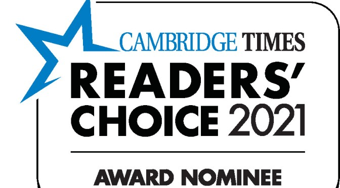 Thank you for your Readers' Choice Nominations! voting has begun!